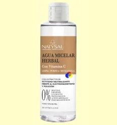 Agua Micelar Herbal - Natysal - 200 ml