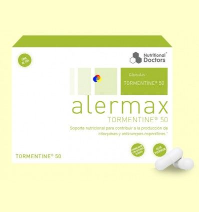 Alermax Tormentine 50 - Alergias - Nutritional Doctors - 30 cápsulas