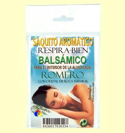 Saquito aromático Respirar Bien - Romero - Aromalia
