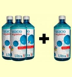 Pack 3+1 Silicio Orgánico Ultra Sil - Espadiet - 1 litro
