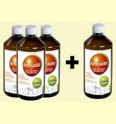 Pack 3+1 ArticulaSil - Silicio Orgánico - VitaSil - 1 litro *