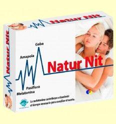 Natur Nit - Melatonina - Naturnit - Espadiet - 30 cápsulas