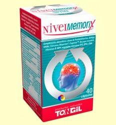 Nivel Memorix - Memoria - Tongil - 40 cápsulas