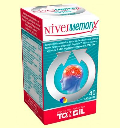 Nivel Memorix - Memoria - Tongil - 40 cápsulas *