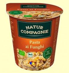 Pasta con Setas Bio - Natur Compagnie - 50 gramos