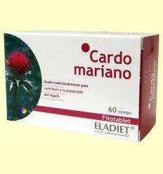 Cardo Mariano Fitotablet - Eladiet - 60 comprimidos de 330 mg