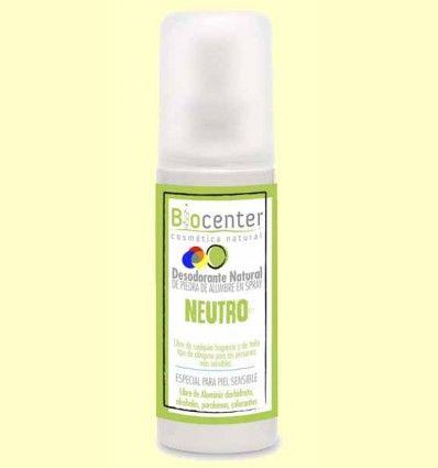 Desodorante Spray Neutro - Biocenter - 100 ml