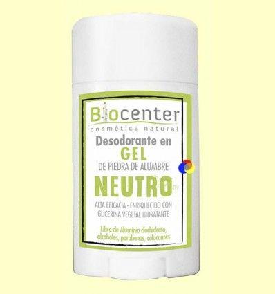 Desodorante Gel Neutro - Biocenter - 50 gramos
