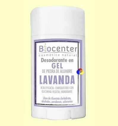 Desodorante Gel Lavanda - Biocenter - 50 gramos