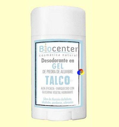 Desodorante Gel Talco - Biocenter - 50 gramos