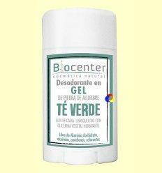 Desodorante Gel Té Verde - Biocenter - 50 gramos