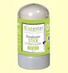 Desodorante Stick Piedra de Alumbre - Biocenter - 60 gramos