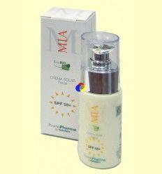Crema Solar EcoBio SPF 50+ - Herbofarm - 50 ml