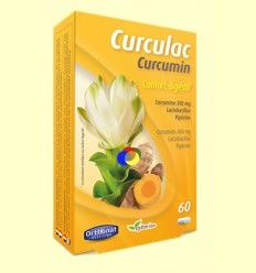 Curculac Curcumin - Orthonat - 60 cápsulas