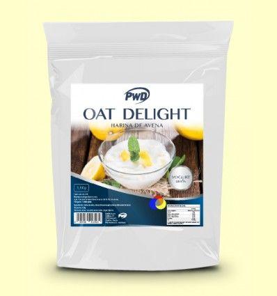 OAT Delight - Harina de Avena Sabor Yogur Limón - PWD - 1,5 Kg