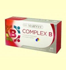 Complex B - Vitamina B - Marnys - 60 cápsulas blandas