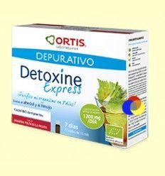 Detoxine Express BIO 7 días - Laboratorios Ortis - 7 ampollas