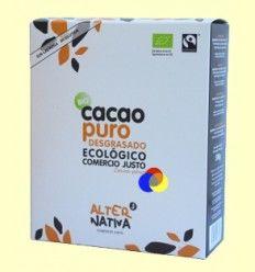 Cacao Puro Desgrasado Bio - AlterNativa 3 - 500 gramos