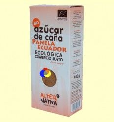 Azúcar de Caña Panela Bio - Origen Ecuador - 400 gramos