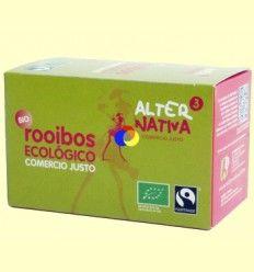 Rooibos Natural Bio - AlterNativa3 - 20 Bolsitas