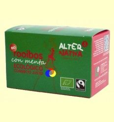Rooibos Menta Bio - AlterNativa3 - 20 Bolsitas