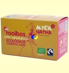 Rooibos Vainilla Bio - AlterNativa3 - 20 Bolsitas
