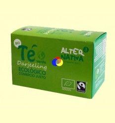 Té Verde Darjeeling Bio - Alternativa3 - 20 Bolsitas