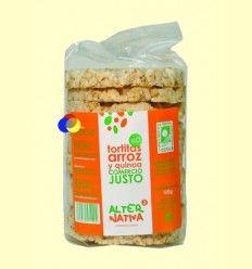 Tortitas de Arroz y Quinua Bio - AlterNativa3 - 100 gramos