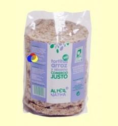 Tortitas de Arroz y Sésamo Bio - AlterNativa3 - 100 gramos