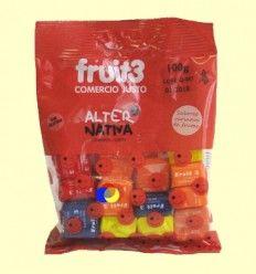 Caramelos Fruit3 Sabores Variados - Alternativa3 - 100 gramos