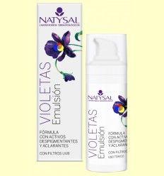 Crema de Violetas Emulsión - Natysal - 30 ml