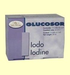 OFERTA-50% - Glucosor Iodo - Yodo - Soria Natural - 12 viales *+