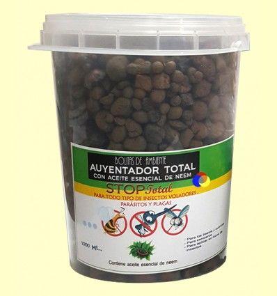 Bolitas de Ambiente Ahuyentador, Repelente y Anti-Mosquitos - Aromalia - 1000 ml