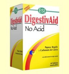 DigestivAid No Acid - Laboratorios ESI - 60 tabletas *