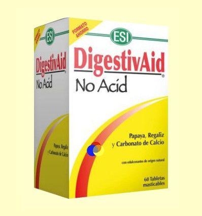 DigestivAid No Acid - Laboratorios ESI - 60 tabletas