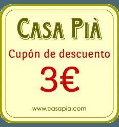 REGALO - Cupón de descuento de 3€ para su próxima compra