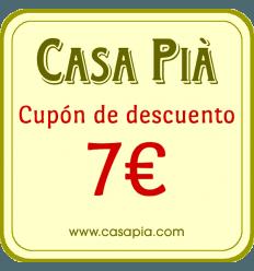 REGALO - Cupón de descuento de 7€ para su próxima compra