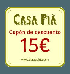 REGALO - Cupón de descuento de 15€ para su próxima compra