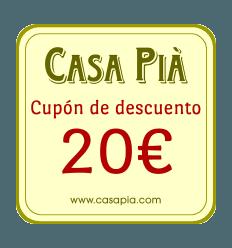 REGALO - Cupón de descuento directo de 20€ para su próxima compra