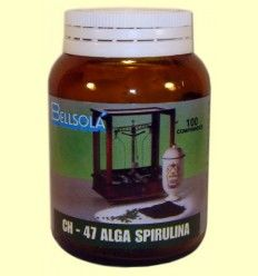 Alga Espirulina - Bellsolá - 100 comprimidos
