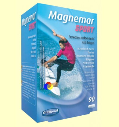 Magnemar Sport - Protección Antioxidante - Orthonat - 90 cápsulas *
