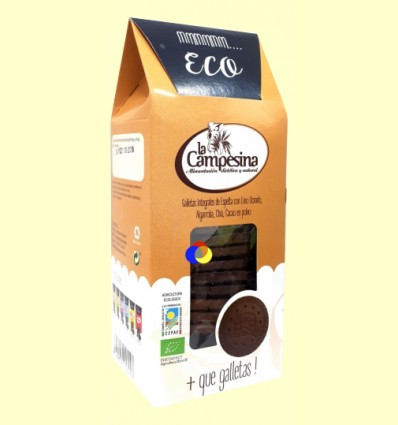 + Que Galletas - Saciante - la Campesina - 115 gramos