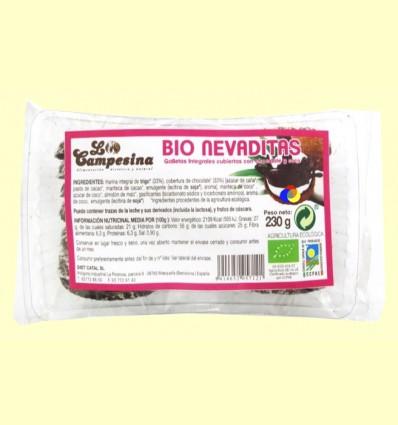 Bio Nevaditas - Galletas de Chocolate y Coco - la Campesina - 230 gramos