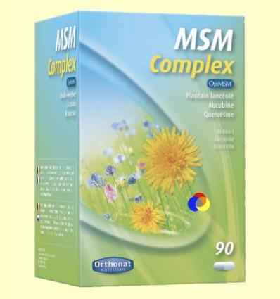 MSM Complex - Orthonat - 90 cápsulas