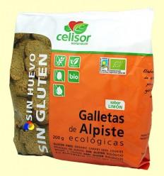 Galletas de Alpiste Ecológicas Sin Gluten Celisor - Soria Natural - 200 gramos