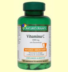 Vitamina C 1000 mg con Escaramujo - Nature's Bounty - 60 comprimidos