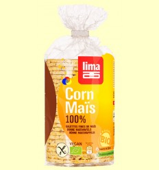 Tortas finas de Maíz Bio - Lima - 100 gramos *