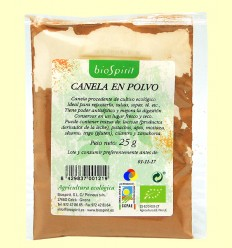 Canela en Polvo Ecológica - BioSpirit - 25 gramos