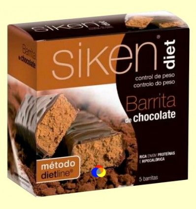 Barrita de Chocolate - Siken Diet - 5 barritas