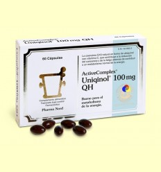 ActiveComplex Q10 Uniqinol 100 mg - Coenzima Q-10 - Pharma Nord - 60 cápsulas